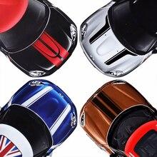 Autocollants de tête à rayures pour capot de voiture   Autocollants pour MINI Cooper S One JCW R55 R56 R57 R60 R61 F54 F55 F56 F57 F60, accessoires de voiture
