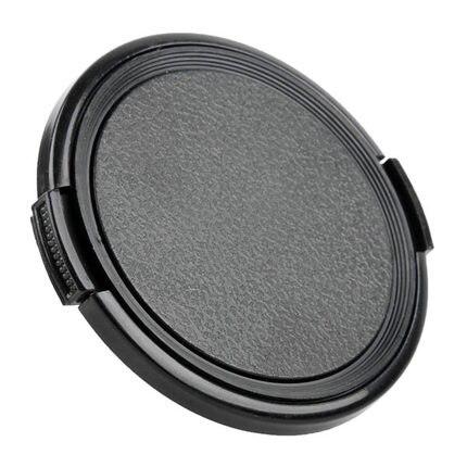 49 52 55 58 62 67 72 77 82 mm snap na tampa da lente frontal para nikon canon pentax sony slr dslr câmera