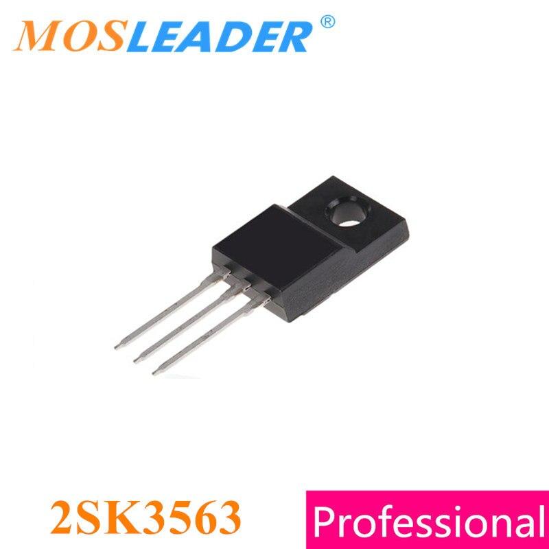 Mosleader 2SK3563 K3563 TO220F 100PCS N-Channel 500V 5A MOS Original High quality