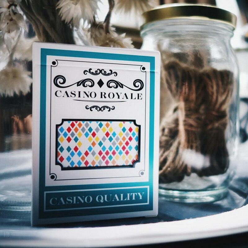 Casino Royale Por Bombardeiro Flor Mágica Corte Florescer Cartão De Jogo De Poker Made In Taiwan Baralho Mágico Adereços
