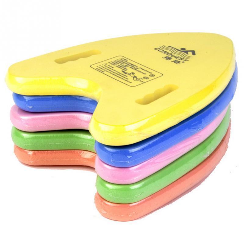 Tabla de natación de Eva ligera con forma de A, placa flotante trasera, Kickboard, herramientas de ayuda para entrenamiento de piscina para adultos y niños