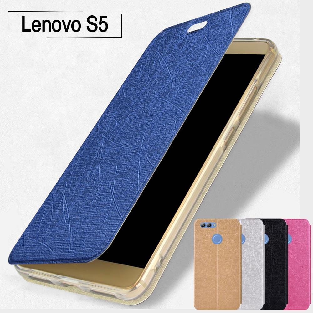 Funda para Lenovo S5 Ultra fina de 5,7 pulgadas, Funda de cuero para Lenovo S5, funda de libro con soporte de TPU suave para Lenovo S5, funda con tapa para Lenovo K520, fundas