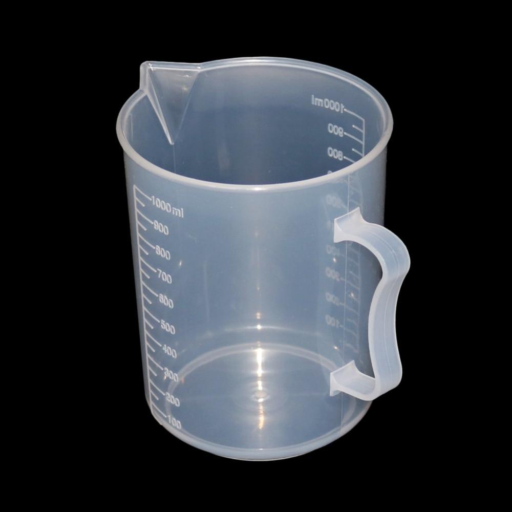 250/500/1000/2000 мл Прозрачный кухонный лабораторный пластиковый мерный контейнер 1 шт.