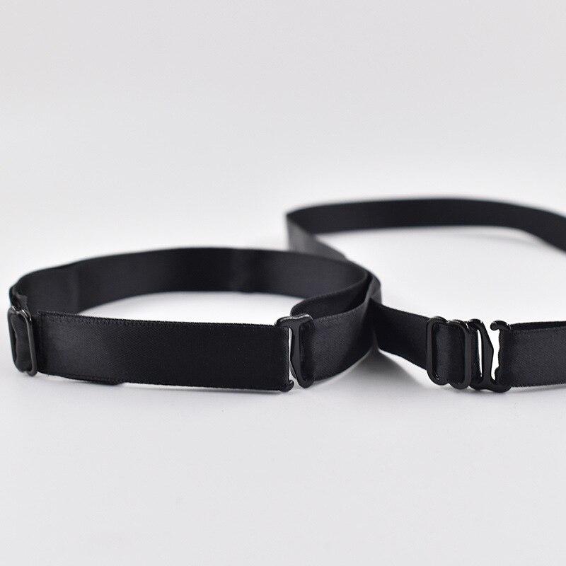 20PCS 2021 DIY 1.2cm Adjustment Rope Ribbon Bow Tie Accessories For Men Women Necktie Elastic Band Max Length 45.5cm Min 25.5cm