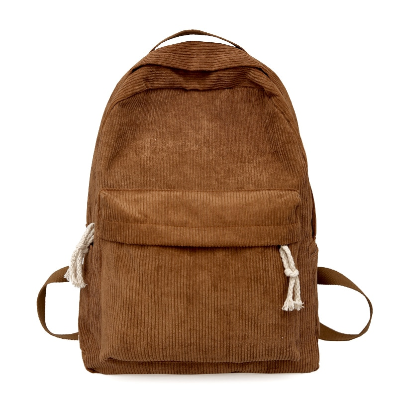 Mochila para mujer, mochila para mujer, mochila suave, mochila sólida para adolescentes, mochila para cuadernos de viaje, mochila Escolar