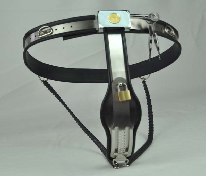 Female Chastity Belt Adjustable Stainless Steel Steel Wire Chastity Belt Enforcer Chastity Device BDSM Sex Toys for women