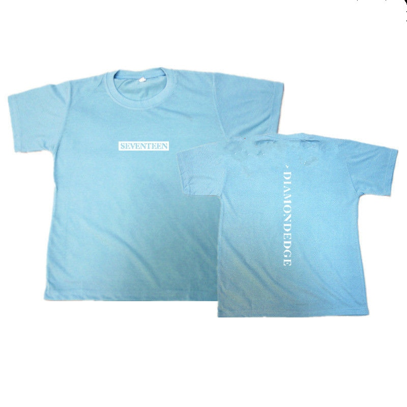 Mainlead KPOP nueva camiseta diecisiete diamante EDGE concierto camiseta letra Tee HOSHI DINO DK