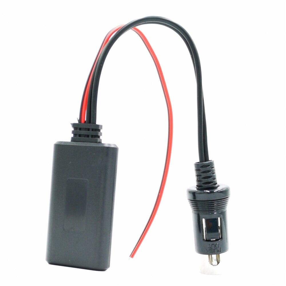 Módulo adaptador Aux Bluetooth para coche, Cable de Radio auxiliar de Audio estéreo para todos los cables Kenwood con 13 pines CD Host KRC-553 CA-C2AX KCA-iP500