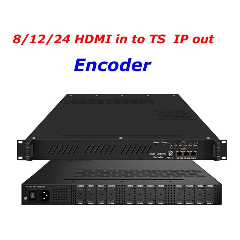 HDMI do ip encoder TS ASI enkodera do wielu kanałów iptv 8/12/24 wejście HDMI do IP HD H.264 enkodera HDMI do IP TS się NDS3542L