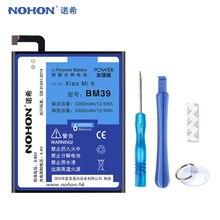 Оригинальный аккумулятор NOHON BM39 для Xiaomi Mi 6 Mi6, 3350 мАч, аккумулятор большой емкости, розничная упаковка, бесплатные инструменты в наличии, 2019 Аккумуляторы для мобильных телефонов      АлиЭкспресс