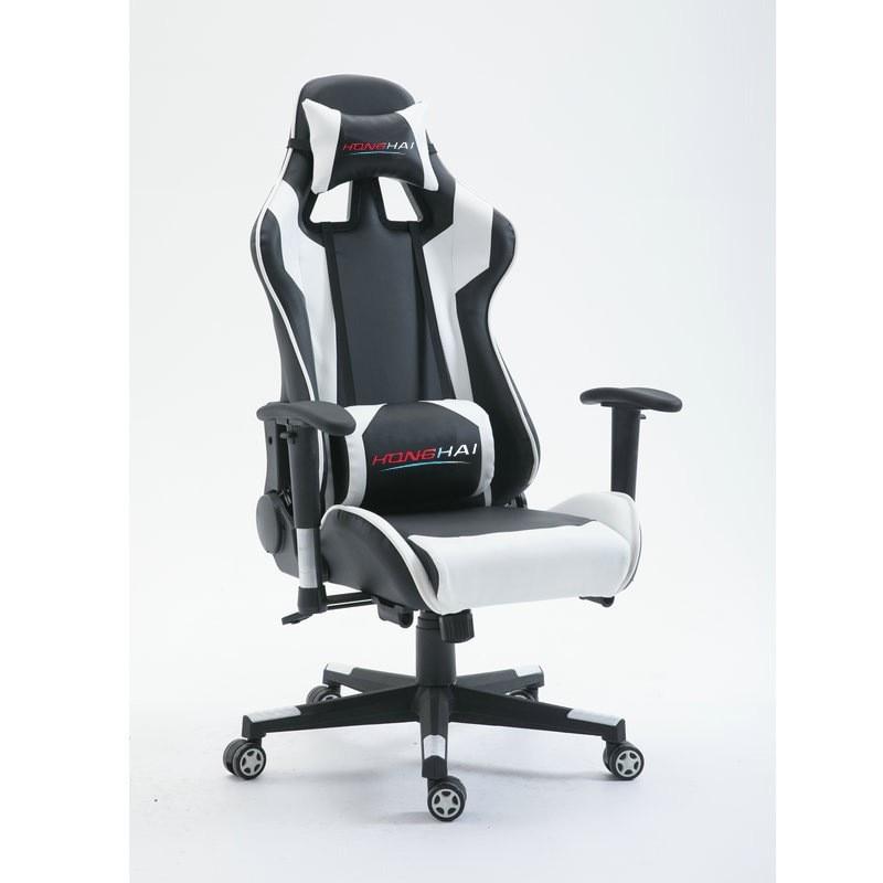 Высокое качество эргономичная игровая компьютерный стул с подставкой для ног