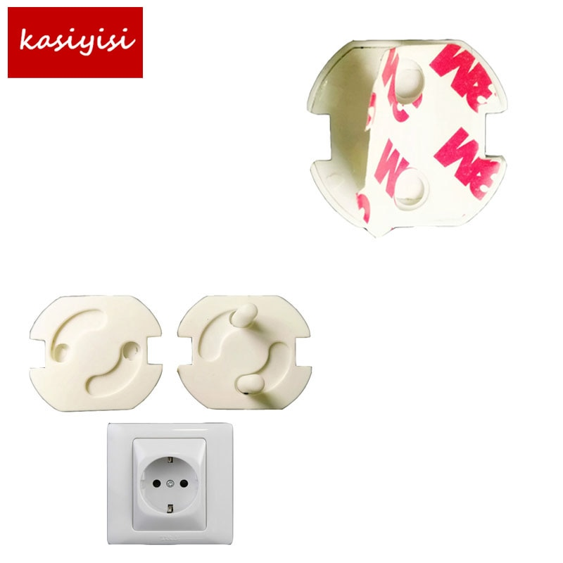 10 Pcs/lot Children Baby Kids Electric Socket Security Lock Safety Protection Safe Lock Cover