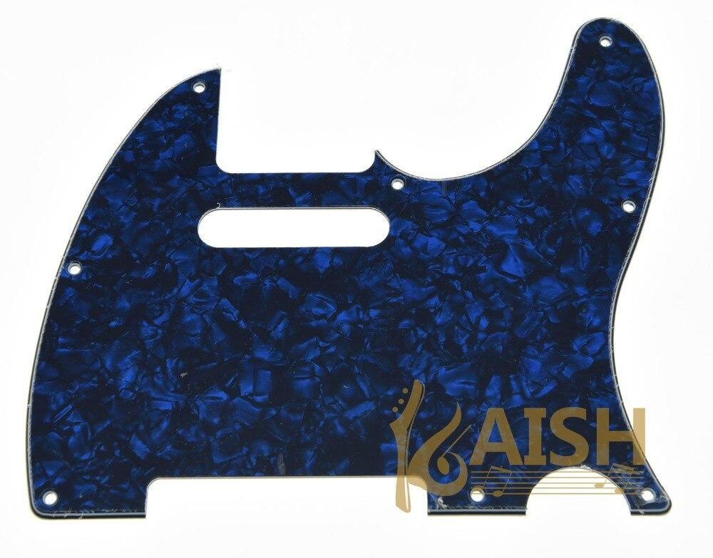 KAISH Perla Azul guitarra guardia cero placa apto guitarra TL