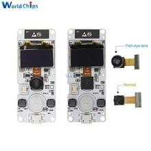 "ESP32-Cam ESP32 OV2640 Camera Module Dual-Core WROVER PSRAM WIFI 0.96"" OLED SSD1306 I2C BME280 Sensor Module CP2104 for Arduino"