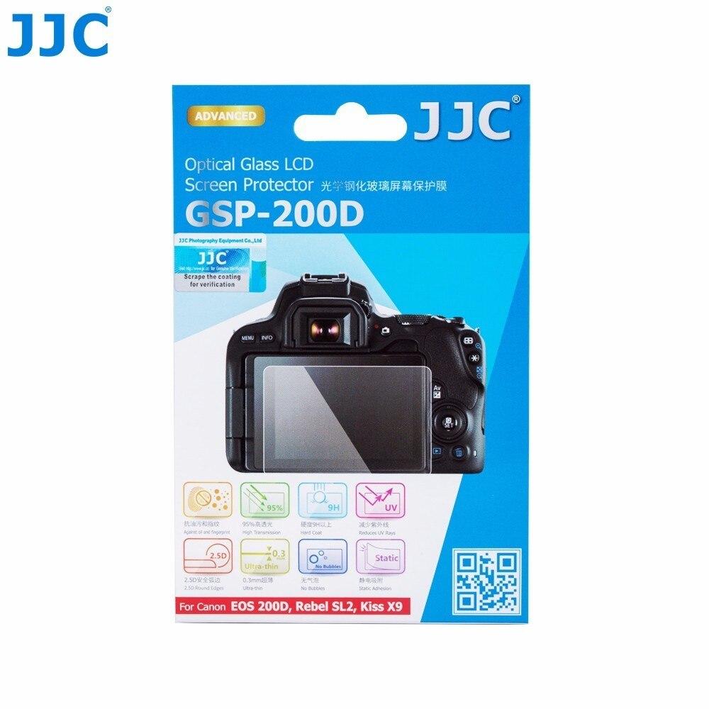 Ультратонкая Защитная крышка для ЖК-экрана JJC и камеры, для CANON EOS 200D / Rebel SL2 / Kiss X9, EOS R, с функцией камеры