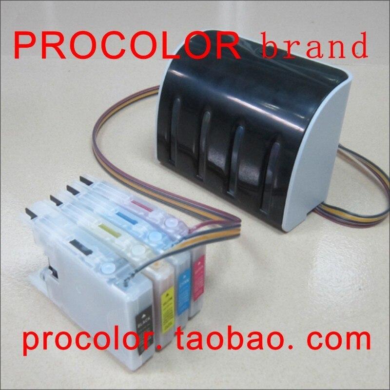 PROCOLOR LC73/LC77/LC1240/LC1280/LC75/LC79/LC400/LC450 كيبك لأخيه LC17 MFC-J5910CDW MFC-J6510DW MFC-J6710CDW MFC-J6910CDW