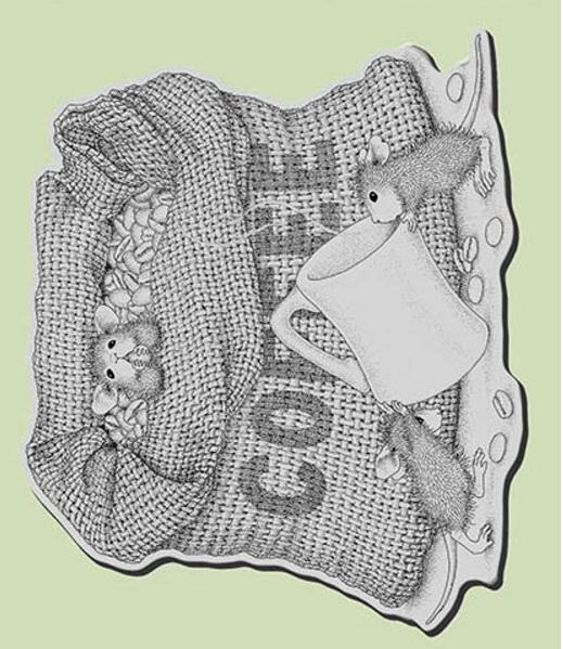 Sello de silicona transparente Happy Mouse/sello para álbum de recortes DIY/sello transparente decorativo para álbum de fotos A1009