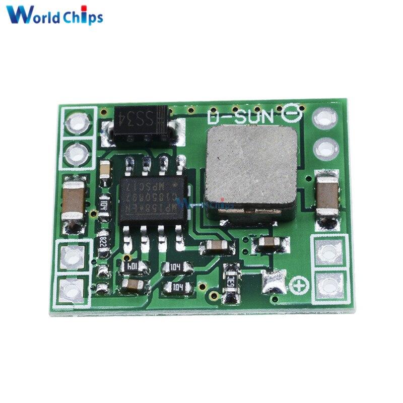 Diymore DC 5V 3A Mini Step Down fuente de alimentación módulo DC-DC convertidor de reducción de entrada 7V ~ 28V salida Diy módulo electrónico