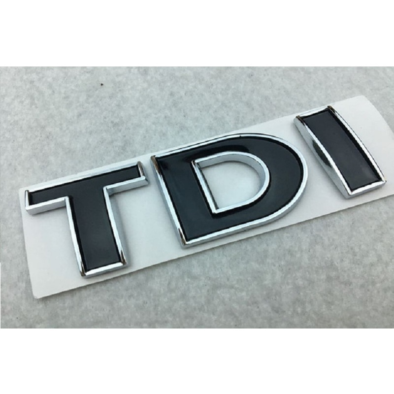 TDI 3D значок эмблема наклейка авто наклейка Стайлинг автомобиля для vw POLO Golf 7 Tiguan JETTA PASSAT b5 b6 MK4 MK5 MK6 MK7 стикер автомобиля