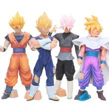 28-32cm Anime Dragon Ball Z Resolution of Soldiers figure Grandista ROS Son Goku Vegeta Gohan PVC Figure Model Toys