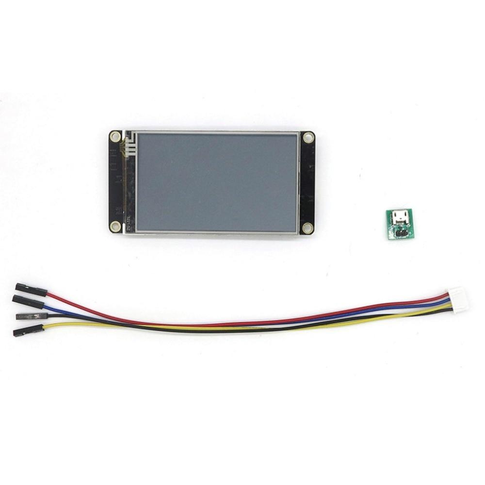 "3,2 ""Nextion mayor HMI inteligente USART UART serie spi táctil TFT LCD panel de visualización del módulo para Raspberry Pi ARD Kits"