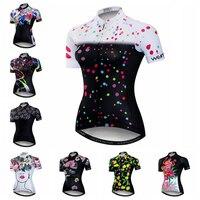 2021 נשים של רכיבה על אופניים ג 'רזי קצר שרוול אופני הרי ג' רזי מירוץ Fit גבירותיי ביגוד רכיבה מלא רוכסן אופניים חולצה למעלה