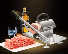 Автоматическая машина для нарезки мяса ягненка домашняя ручная машина для мяса коммерческий жир крупного рогатого скота рулон мясорубка для замороженного мяса строгальная машина