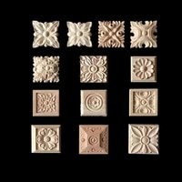 vintage home decoration accessories furniture appliques woodcarving corner decal wooden decor frame wall door miniature