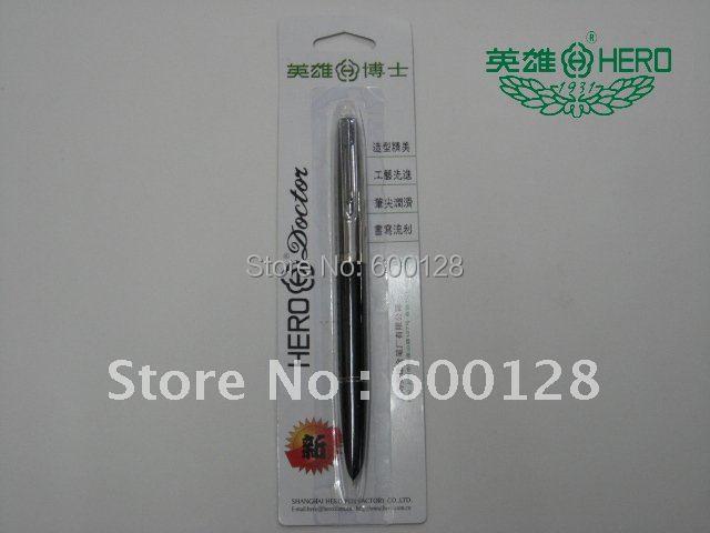 100% garantizado, plumas estilográficas HERO 616, embalaje de Blister con código de verificación de seguridad, venta al por mayor y al por menor