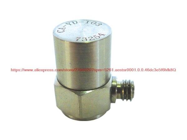 Acelerómetro piezoeléctrico de CA-YD-103 20 pC/g0.5-12 kHz extremo lateral