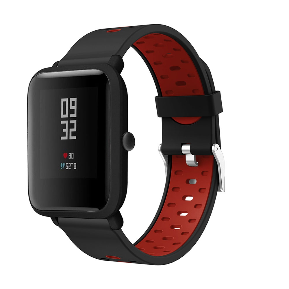 20mm Watch Strap for Xiaomi Huami Amazfit Bip Youth/youth Lite/Amazfit GTS Smart Watch Band Sports Silicone/Galaxy Watch 42mm sports silicone wrist strap bands for xiaomi huami amazfit bip bit pace lite youth smart watch replacement band