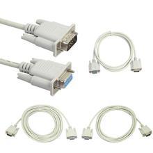Seryjny RS232 9-Pin męski na żeński DB9 9-Pin PC konwerter kabel przedłużający