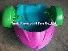 Best popolare parco acquatico amuzement bambini di plastica a mano barca a remi barca per la vendita