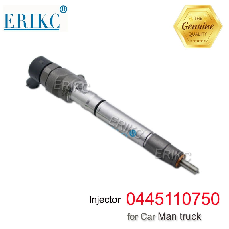 ERIKC 0445110750 CRDI впрыск дизельного двигателя 0 445 110 750, автомобильный инжектор топлива в сборе Inyector 0445 110 750 для автомобиля JAC