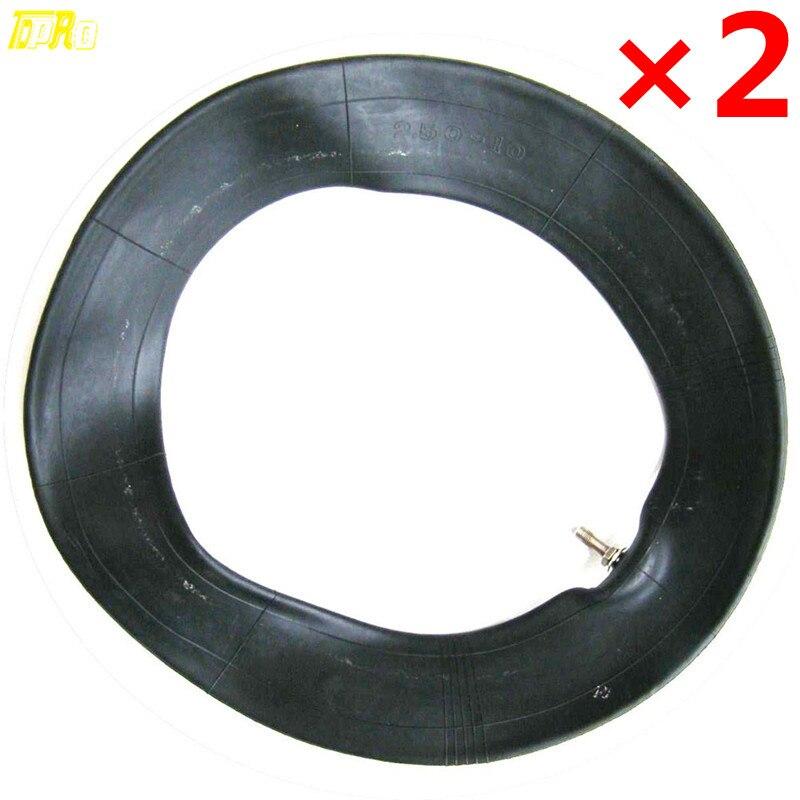 TDPRO 2x neumático de motocicleta tubo interior 2,50-10 pulgadas neumático para Supermoto Yamaha PW50 TTR50 Honda CRF50 XR50