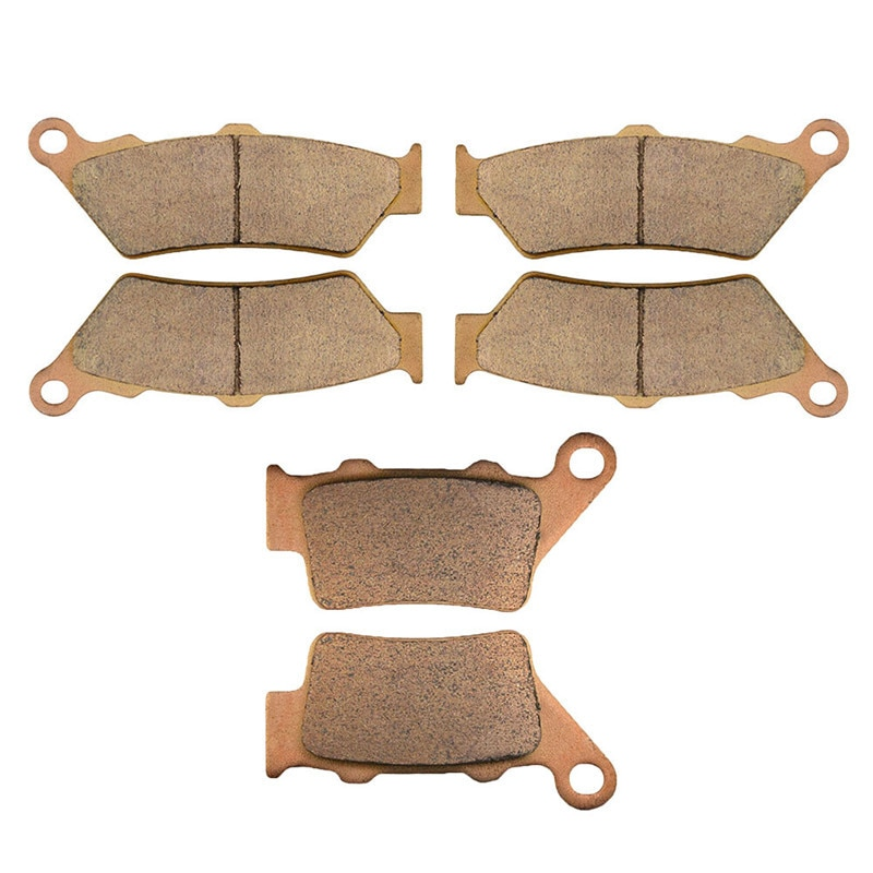 for bmw f 800 gs f800 gs f800gs 2009 2010 2011 2012 2013 2014 2015 f700gs motorcycle rear brake disc brake disk brake rotor Motorcycle Parts Front & Rear Brake Pads Kit For BMW F800GS F800 F 800 GS 2008 2009 Copper Based Sintered