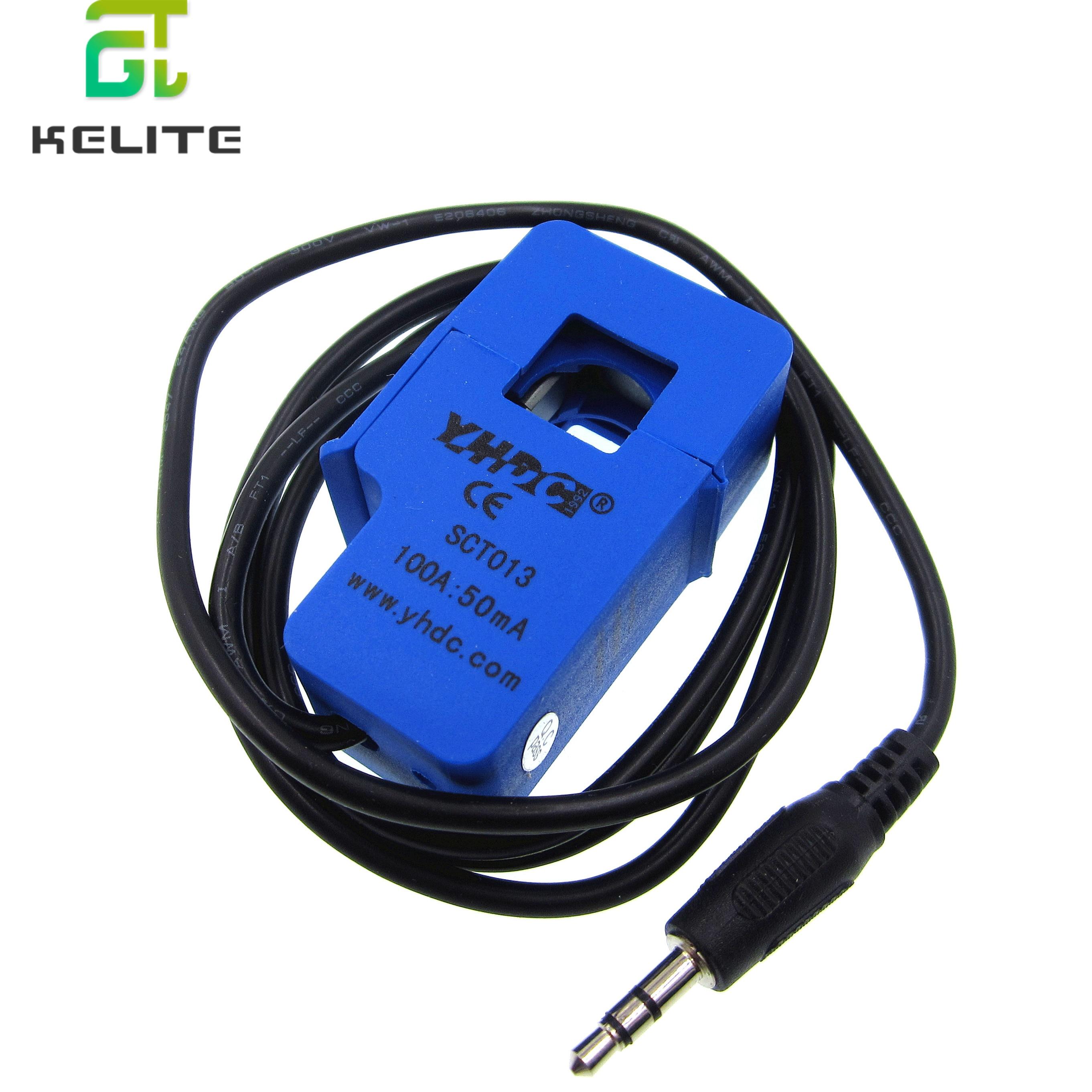 Nicht-invasive Split Core-Stromwandler AC strom sensor 50A 100A SCT-013-000