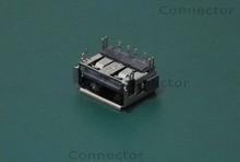 10x Laptop Common Female USB Jack Connector fit for Toshiba Satellite P745 P750 P755 L455 L3035 P100 P105 A655 L450 L455 Series