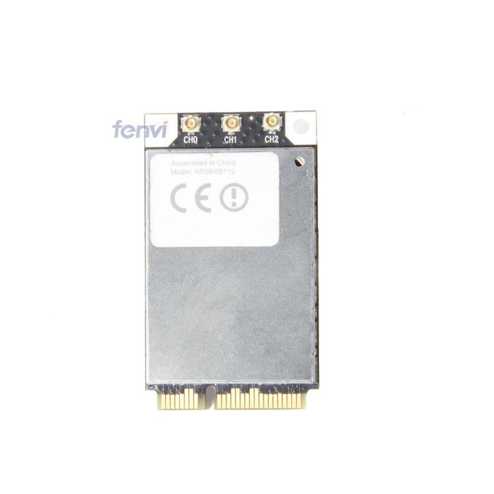 Atheros AR5BXB112 AR9380 Dual Band 450Mbps Wifi Mini PCI-E Wireless Card for Apple 802.11a/b/g/n Wlan S/N C86214300RHCCV4AB
