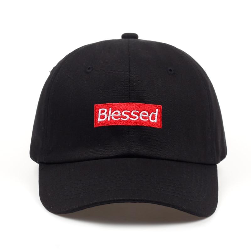 brand men women fashion Blessed  Custom Unstructured Dad Hat Adjustable baseball Cap New 2018