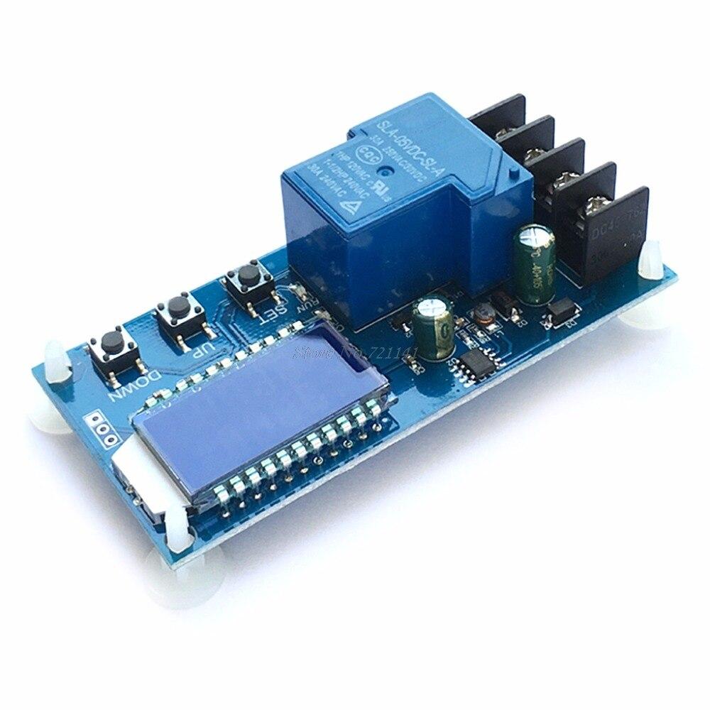 Módulo de Control de cargador de batería 30A 6-60V protección de sobrecarga interruptor de Control circuitos integrados) Dropship