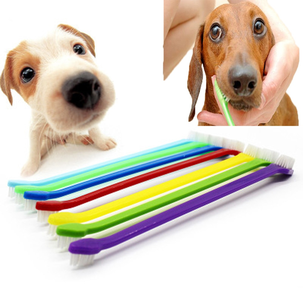 Cepillo Dental supersuave para dientes de Mascota, cuidado Dental para mascotas, cuidado Dental, limpiador de dientes, suministros para perros y gatos 2018