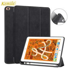 Kemile Voor iPad mini 5 7.9 2019 Case W potlood houder TPU Cover met Auto Sleep/Wake Stand cover Voor iPad mini 4/5 7.9 Case