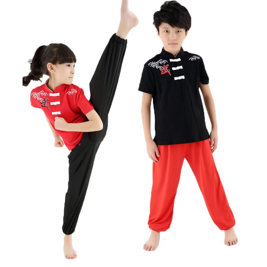 Новая высококачественная детская форма ушу с коротким рукавом, тренировочный костюм для тренировок, костюмы Taichi для мальчиков и девочек|costume express free shipping|suit fittingscostumes warrior | АлиЭкспресс