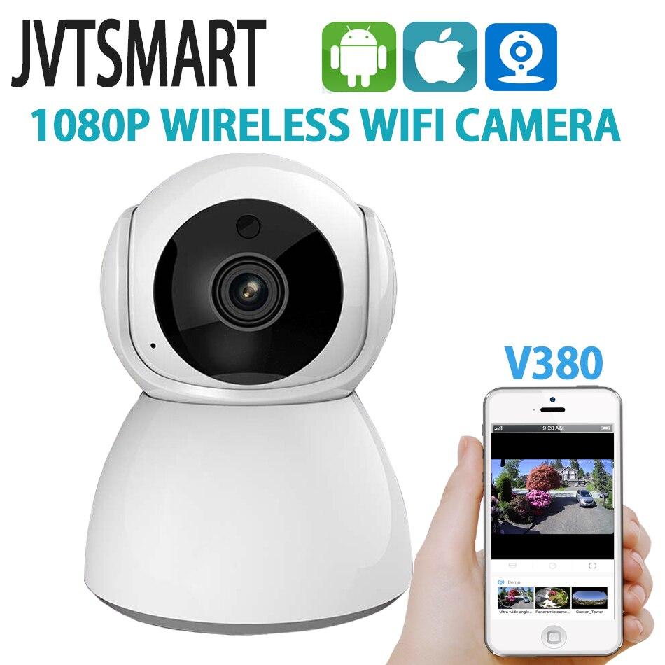 Jvtsmart 1080 p wifi câmera ip sem fio de segurança em casa ip cam vigilância câmera ptz camara wi-fi cctv câmera v380 monitor do bebê