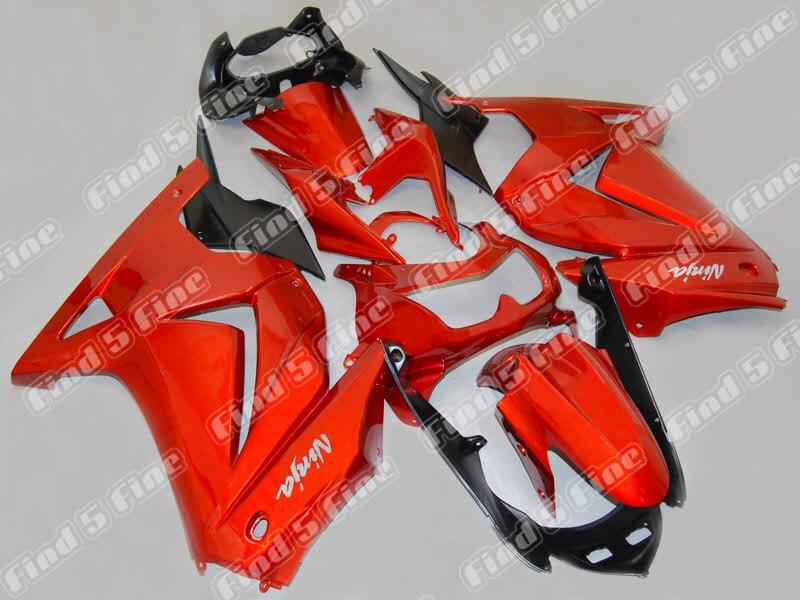red black for Kawasaki NINJA EX250R 08-12 EX 250R ZX250R 2008-2012 08 09 10 11 12 2008 2009 2010 2011 2012 ABS fairing kit