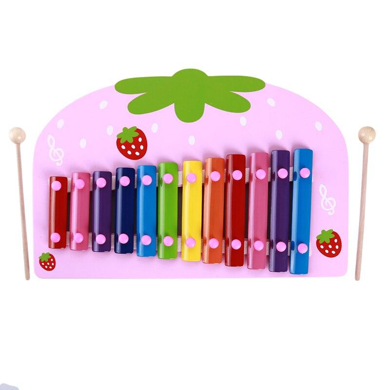Музыкальный инструмент игрушка деревянная рамка стиль ксилофонная музыка