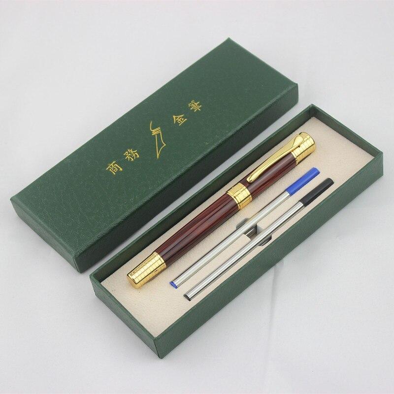 DIKA WEN X12, bolígrafo Rollerball, juego de bolígrafo de tinta financiera, pluma de 0,5mm, bolígrafos de firma de negocios de lujo para oficina, regalo de Navidad