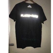 Luoghi + Faces T-Shirt Degli Uomini Delle Donne di Alta Qualità di 1:1 di Cotone Hip Hop Streetwear Luoghi + Faces Tee 3M Riflettente luoghi + Faces T-Shirt