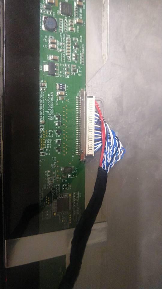 """kit for LTM230HT05 DIY CVBS LED LVDS 30pin USB LCD TV AV Panel monitor VGA HDMI 1920X1080 Controller board 23"""""""